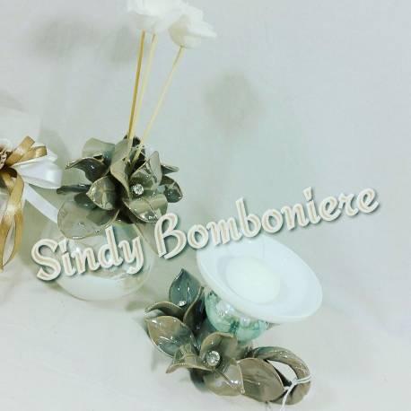 Bomboniere on line matrimonio oggetti vetro porcellana swarovski  eBay