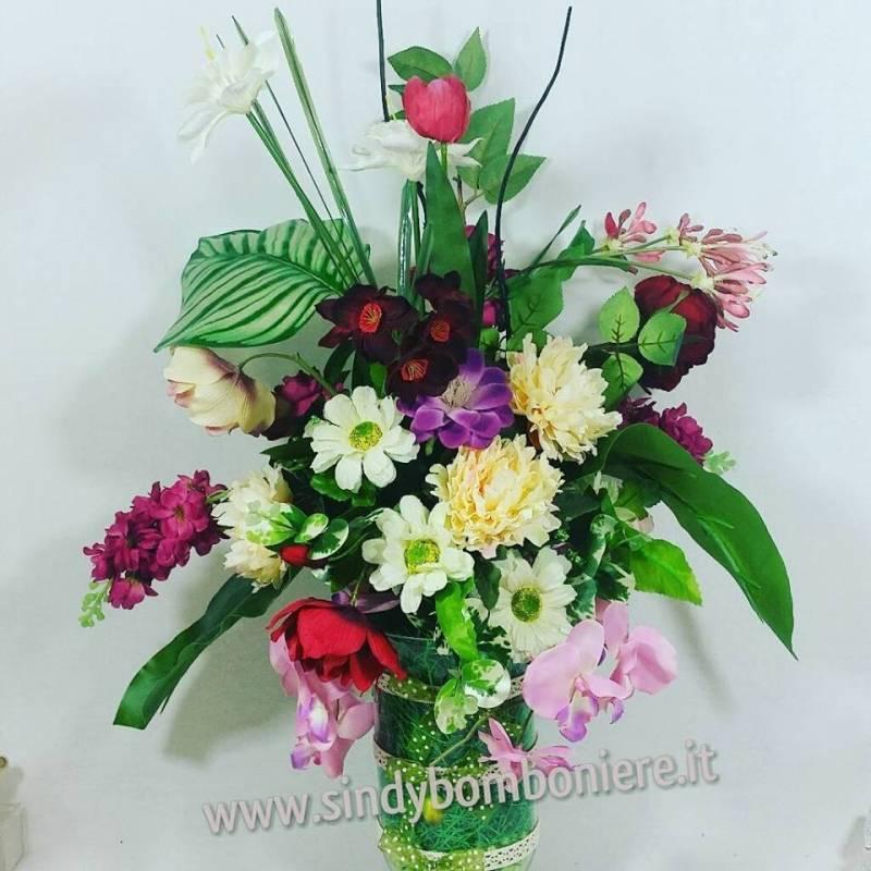 Composizioni di fiori artificiali composizione fiori for Fiori artificiali