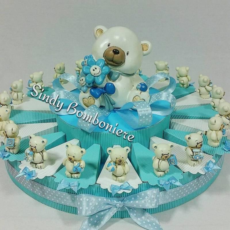 Torta bomboniera orsetto boo boo con giocattoli fh82187b - Idee per battesimo bimbo ...