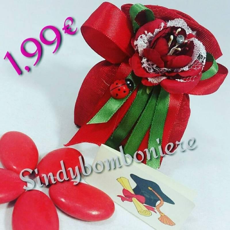 Eccezionale Sacchetti per laurea confezionati con bigliettino e confetti (2  TS67