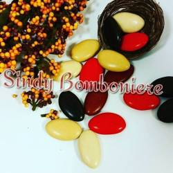 Confetti Buratti inverno sfumati marrone