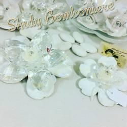 Bomboniere eleganti per matrimonio di porcellana e swaro