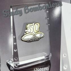 Bomboniere argento nozze d'oro 50 anniversario di matrimonio
