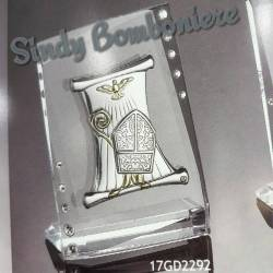 Bomboniere argento cresima confezionate prezzi scontati icona sacra