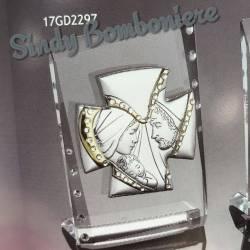 Bomboniere argento sacra famiglia confezionate prezzi scontati icona sacra