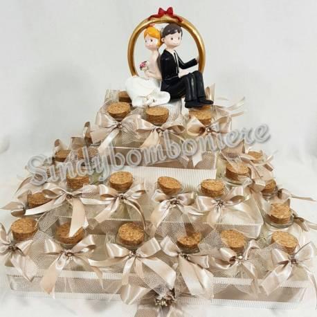 Confetti Bomboniere Matrimonio.Vasetti Portaconfetti Per Bomboniere Matrimonio A Forma Di Anfora