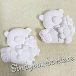 Gessetti profumati per bomboniere battesimo nascita bimbi dolci orsetti