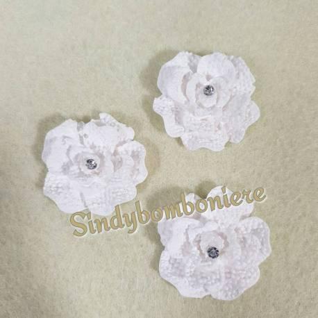 3 Gessetti profumati fiore con strass