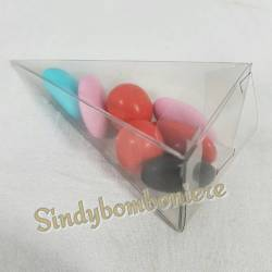 3 scatoline portaconfetti a forma di cono ideale per confetta