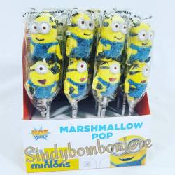 Marshmallow minions spiedino segnaposto ideali per compleanno feste a tema