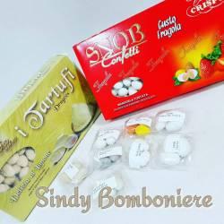 Kit degustazione confetti con mandorla SNOB DRAGEES Crispo per confettata 22 gusti