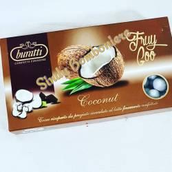 CONFETTI BURATTI FRUY GOO frutta cocco bianchi cioccolato da 1KG per confettata