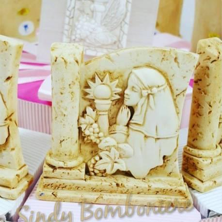 Torta bomboniera per comunione bimba sacramento su pietra spedizione inclusa