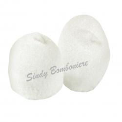 marshmallow Bulgari Palle da golf bianche 900 grammi