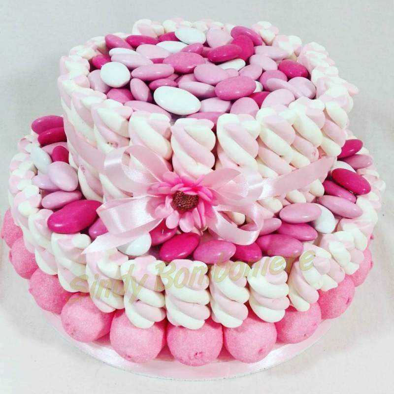 Ben noto Torta di marshmallow e confetti Crispo SELECTION VARI GUSTI Bimba  KT92