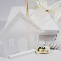 CARLO PIGNATELLI bomboniera matrimonio profumatore casa in vetro LINEA ODILLA