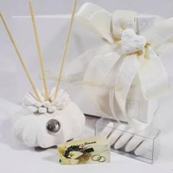 Profumatore in gesso ceramico cactus bianco CARLO PIGNATELLI LINEA LEA