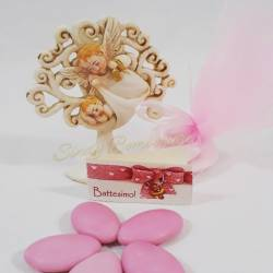 Idee bomboniere per nascita battesimo bimba sacra famiglia cuore sacramento femminuccia