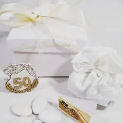 Icone sacre in resina con scatola e sacchetto matrimonio anniversario cresima comunione nascita LA DOCA