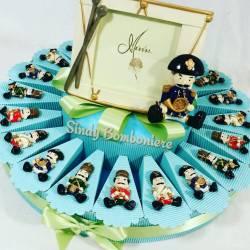 Bomboniere nascita compleanno battesimo Soldatino magnete guerra assortito portafoto bimbo