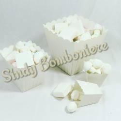 Caramellata confettata con marshmallow bomboniere matrimonio cresima comunione nozze sposi per 20 persone