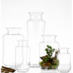 Vaso porta piante Mod. Shao doppio vetro