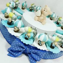 bomboniere nascita maschio portachiavi argentati torta portaconfetti coccinella gay mattiolo