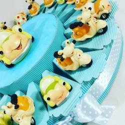 Torta BOMBONIERA con...