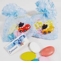 Gadget Bomboniere primo compleanno conomiche 1 euro cars portaconfetti Walt Disney