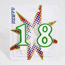 CANDELE PER PARTY A TEMA 18° COMPLEANNO