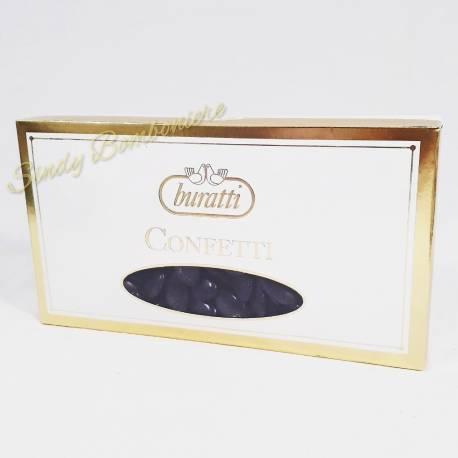 CONFETTI neri ripieni cioccolato fondente CRISPO 1 kg confettata compleanno eventi
