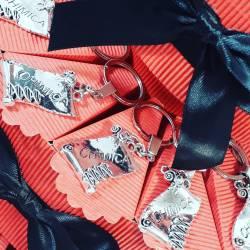 TORTA BOMBONIERA per laurea porta confetti pergamena portachiavi Chimica spedizione inclusa