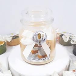 Torta bomboniera Prima Comunione candele Country Candle per bambina