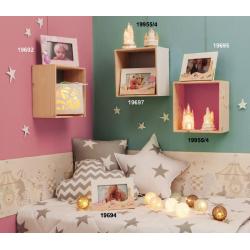 Bomboniere Claraluna Portafoto da appoggio per nascita e statuine led ideali per festeggiare la Nascita di tuo figlio figlia