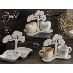 set sale e pepe antipastiera tazze caffè bomboniere matrimonio utili