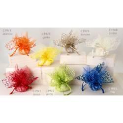 sacchetti rete e organza vari colori per confezionare bomboniere di vari eventi