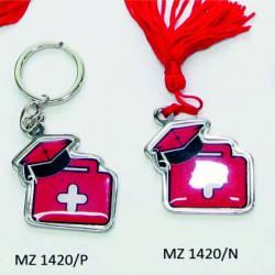 Bomboniera Laurea medicina borsa valigetta dottore medico con nappa o portachiavi