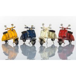 Bomboniera suprammobile scooter piccoli bianco, rosso, giallo, blu   CUOREMATTO LINEA CUOR VELOCE