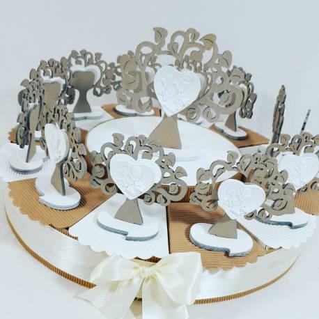 Torta bomboniere albero della vita prima comunione ideali per bomboniere comunione bambina/o