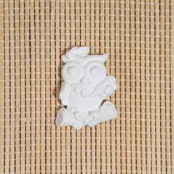 3 Gessetti profumati a forma di gufetto con tocco e pergamena decorazione per bomboniere laurea