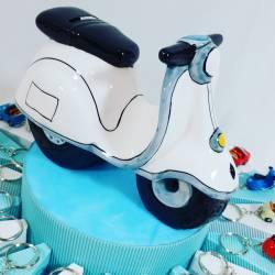 Torta Bomboniere vespe/auto...