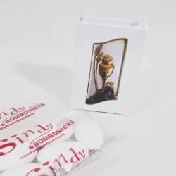 Scatolina portaconfetti comunione bomboniere a forma di libro prezzi bassi segnaposto online