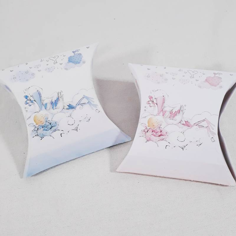 Scatoline portaconfetti nascita bimba o bimbo