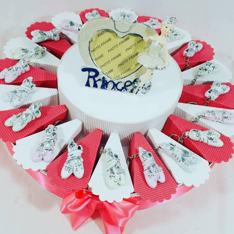 torta bomboniera ballerina