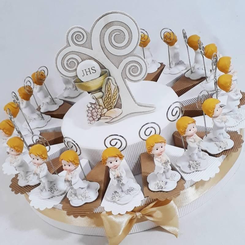 Alla fine del festeggiamento della Prima Comunione di un bambino si è  solitidonare una bomboniera che è, in fondo, un oggetto rappresentativo e  che