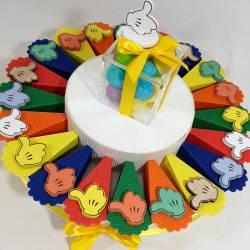 torta BOMBONIERA 18° COMPLEANNO like