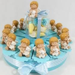 Torta bomboniera battesimo...