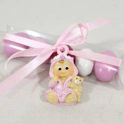 Bomboniere nascita rosa particolare ed economica