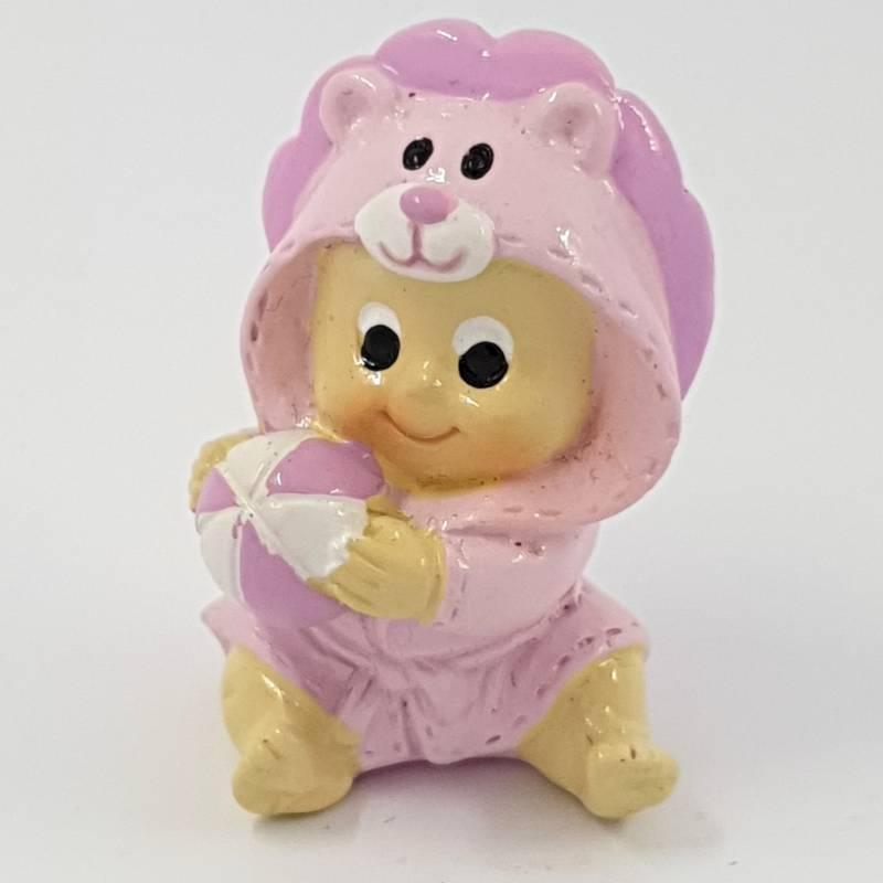 Bomboniere nascita bimba pupazzetto rosa