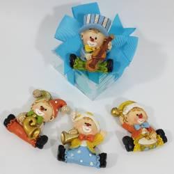 Bomboniere Battesimo economiche magnete pagliaccio clown1